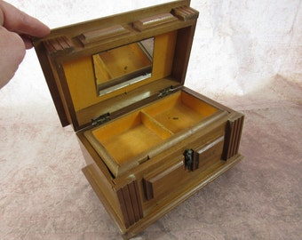 Vintage Mid Century Music Jewelry Box Taiwan I Could Have Danced All Night
