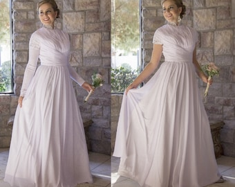 Lds Wedding Dress Etsy - Lds Wedding Dress