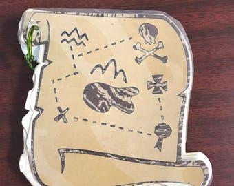 Treasure Map Notebook