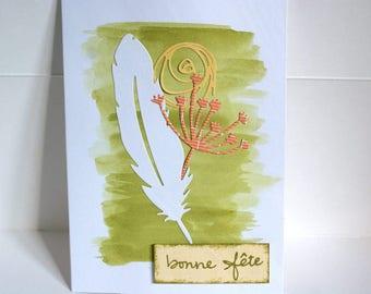 "Handmade card day."""
