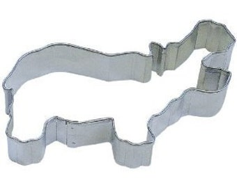 Hippo Cookie cutter 4 inches all I want for Christmas is a hippopotamus