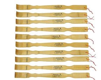 Bamboo Backscratchers 10 30 50 and 100 Wholesale Back Scratcher