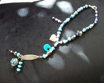 Rearview Turquoise pendant
