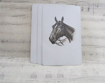 Vintage Horse Playing Cards- Set of 10