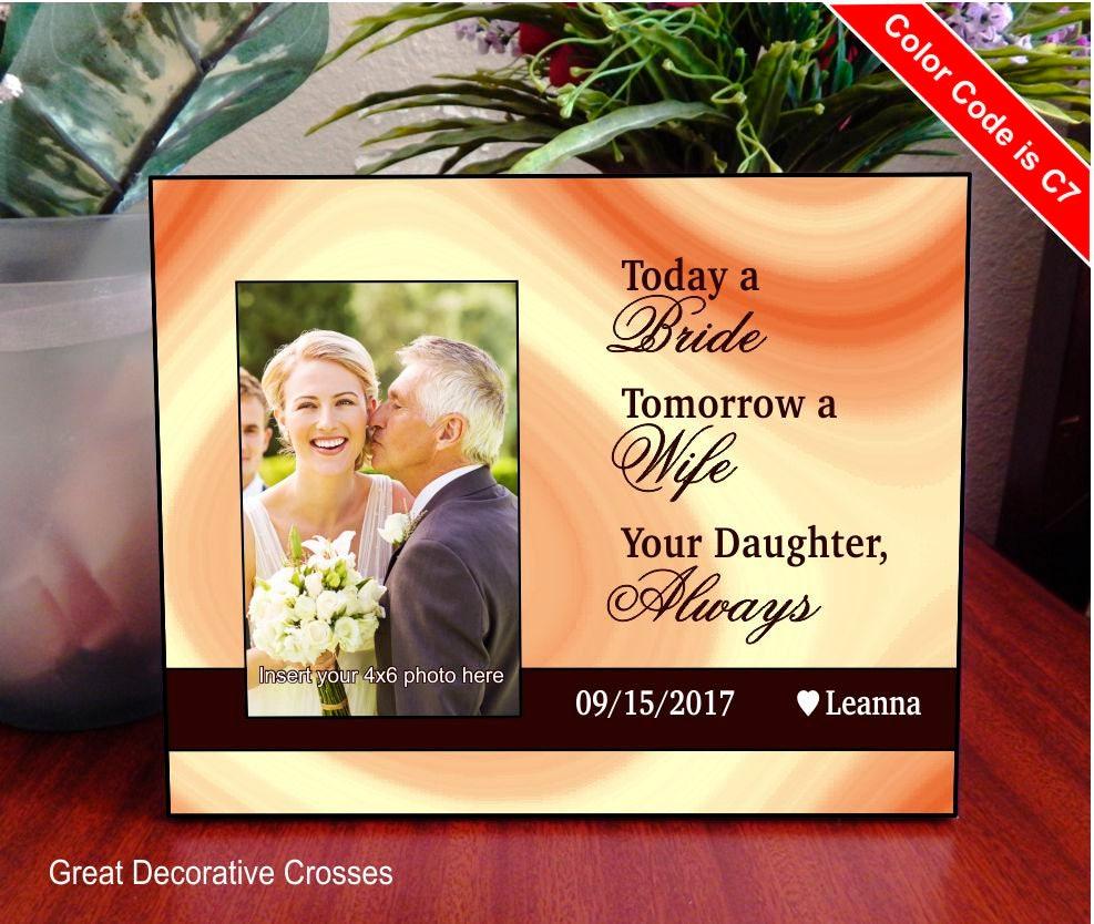 Heute ein Braut-Morgen A Frau-für immer Ihr kleines Mädchen