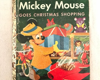 Vintage Disney Little Golden Book