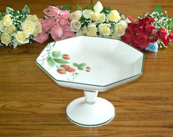 Reduced - Antique Villeroy & Boch Compote - Made in Germany - Backstamp 1874 - 1909