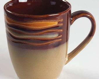 Sabatier Stoneware \ Waves Brown \u0027\u0027 Collectible ... & Sabatier | Etsy