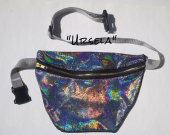 Ursela Holographic JEAUX Belt Bag