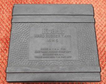 Kodak Hard Rubber Tank 4x5