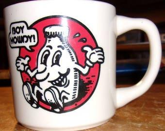 Vintage CREEM Coffe Cup Mug America's Only Rock 'n' Roll Magazine Boy Howdy!