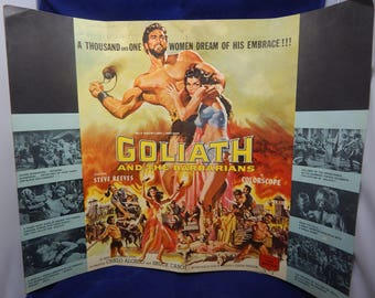 """1959 Press Junket (Film) Steve Reeves """"Goliath and the Barbarians"""""""