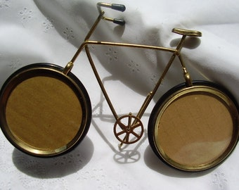 Vintage Wire BICYCLE PHOTO FRAME