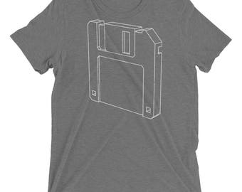 Floppy Disk Short sleeve t-shirt men fit