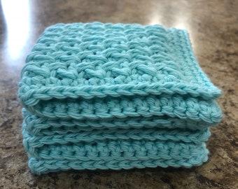 Handmade washcloth - set of 2
