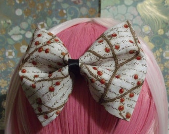 Romantic winterberry Bow