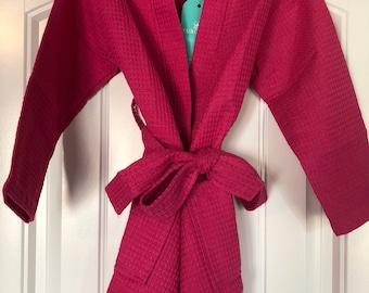Girls Kimono Pink Robe