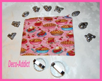 Kit in pink theme cotton tarts and cherries
