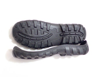 Rubber soles Black for your own projects big sizes - Supply for shoes snow boots