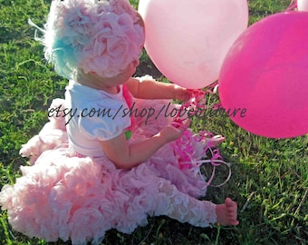 Sweet Baby Girl 5 Piece Birthday Set Full Pettiskirt,Birthday Onesie,Lace Leggings,Bloomers, and Headband