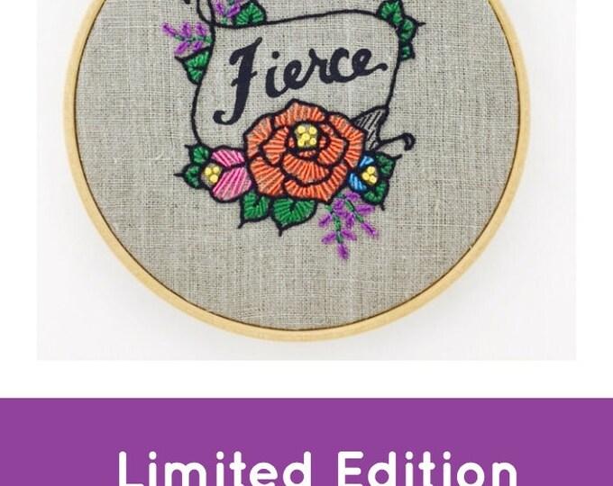 Fierce Embroidery Kit {basic}