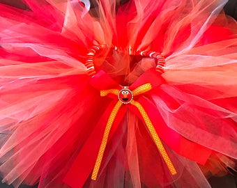 Elmo themed tutu any size from nb-5t -- free shipping!!