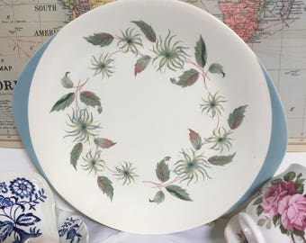 Vintage Wedgwood 'Penshurst' Tabbed Cake Plate