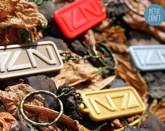 Mass Effect inspired - N7: 3D Printed Keyrings