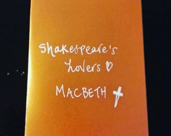 Shakespeare's Lovers: Macbeth  (FREE SHIPPING!)
