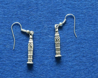 Big Ben earrings pendant