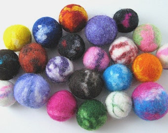 Felted Wool Beads - PDF Tutorial