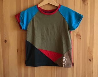 Kids shirt size 7. Funny kids shirt. Trendy kids clothes. Designer kids clothes. Kids clothes handmade. Cool kids clothes.