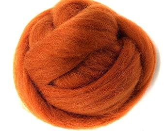 3.5oz (100g) Wool Roving Merino 70's Grade Super Soft Wholesale Wool Top Roving Fiber for Needle Felting Kits (No.19)