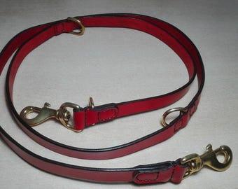 Leash, dog leash, leather leash