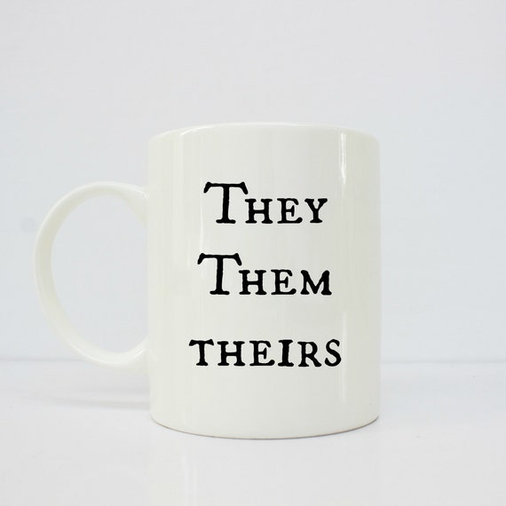 Pronoun - pronoun mug- they them theirs- trans mug- trans - mtf - ftm - lgbtq
