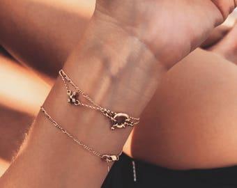 Petite Perfect 14k Gold Bracelet