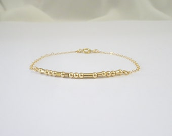 Morse Code Bracelet, Best friend jewelry, sister morse code bracelet, mother bracelet, your Name bracelet, personalized bridesmaid bracelet