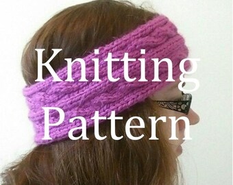 Naramore Winter Headband Knitting Pattern