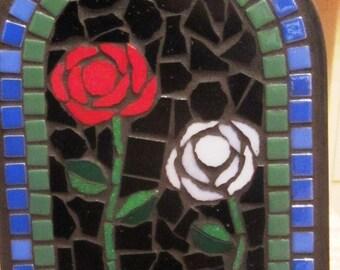 Mosaic Mailbox Roses