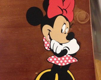 Minnie Mouse die cut