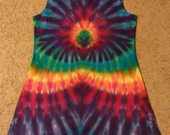 Large Women's Rainbow Burst Playdress