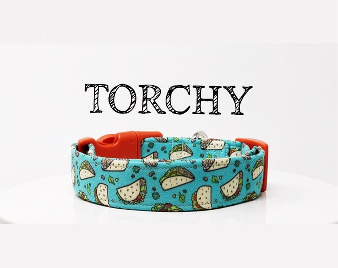 Featured listing image: Taco Collar | Fun Dog Collar | Foodie