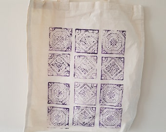 Hand 'Block Printed' Bag