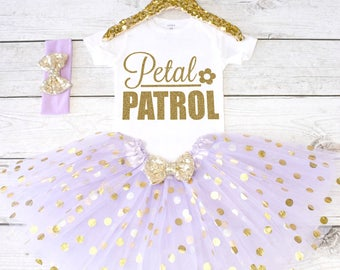 Petal Patrol. Flower Girl Shirt. Flower Girl Outfit. Flower Girl Tutu Outfit. Petal Patrol Shirt. Rehearsal Dinner. S30 FWG (LAV)