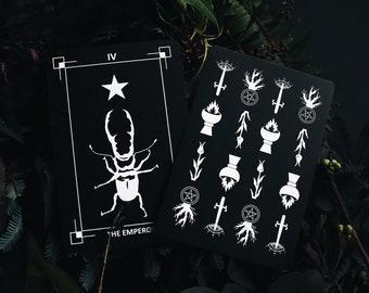 The Dark Exact Tarot Deck