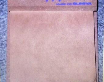Deep Purple Japanese Promo Note Pad