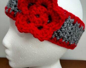 Women's Earwarmer W/Flower