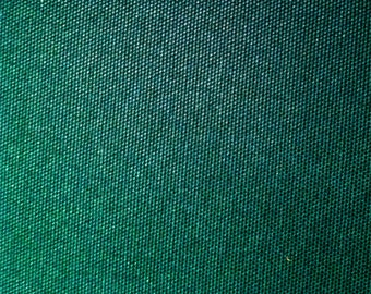 Heavy weight Green Cotton Canvas fabric