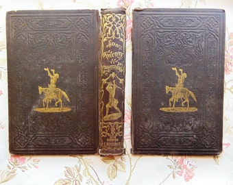 1848 Antique Book Covers