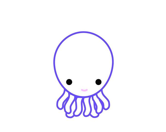 230 Need A Hand Greeting Card | Octopus | Helpful | Generosity | Helping Hand